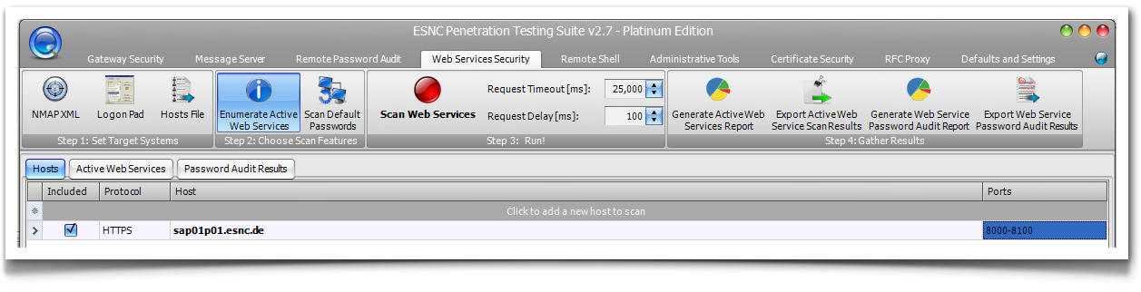 ESNC Penetration Testing Suite - SAP Security Scanner